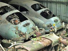 Porsche 356 barn finds Mehr