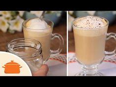 PANELATERAPIA - Blog de Culinária, Gastronomia e Receitas: Espuma de Leite para Bebidas Quentes