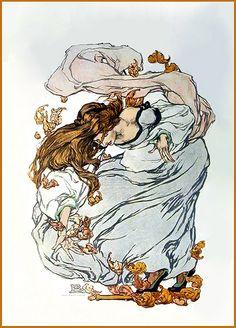 Clara Elsene Peck 'Autumn' 1908 Collier's magazine