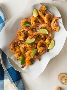 Grilled Shrimp / Spoon Fork Bacon