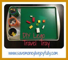 Save Money, Live Joyfully: DIY Lego Travel Tray Traveling with Kids, Traveling tips, Traveling Road Trip With Kids, Family Road Trips, Travel With Kids, Travel Tray, Car Travel, Road Trip Activities, Toddler Activities, Roadtrip, Useful Life Hacks