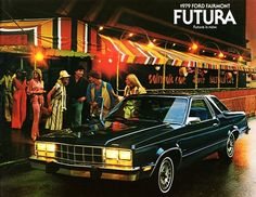 1979 Ford Farimont Futura. Just not as glammy as this pic tried to portray