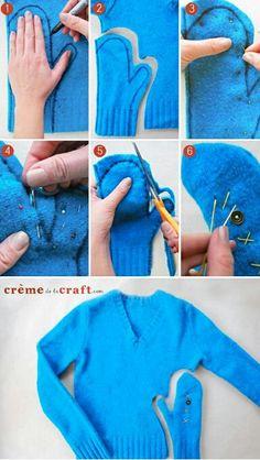 Lets make #gloves #DiY