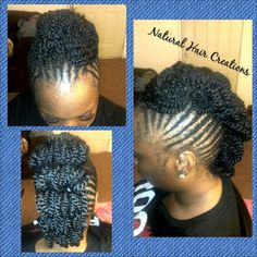 Photo by natural_hair_creations kinky twists style