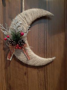 All Things Christmas, Christmas Diy, Christmas Wreaths, Xmas, Diy And Crafts, Homemade, Holiday Decor, Vintage, Home Decor