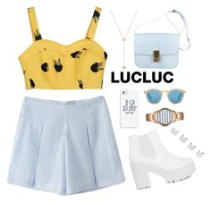 """""""LUCLUC 24 . 3"""" by katerina-rampota ❤ liked on Polyvore"""