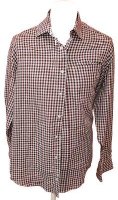 BRUMLA.CZ – Značkový dětský a dospělý second hand a outlet, použité oděvy pro děti a dospělé - Pánská kostkovaná košile zn. Taylor&Wright