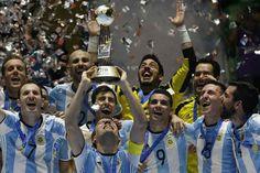 Argentina gana primer título en Copas Mundiales de Fútsal en Colombia - Prensa Latina