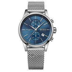 3a7ad62f8fd Buy Hugo Boss Mens Jet Chronograph Watch HB 1513441 by Hugo Boss from The  Watch Corp -   The Watch Corp