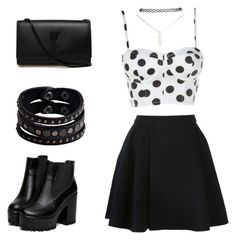 """""""Cutie """" by rokay108 on Polyvore featuring Avelon, Replay, Wet Seal and Yves Saint Laurent"""