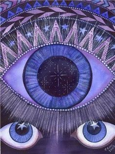 The Third Eye acts as a third part of the brain between the left and right hemisphere. Avoiding the negative archetype of the Rationalist, a Psychic trusts instincts beyond logic.