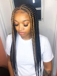 Braided Hairstyles For Black Women Cornrows, Feed In Braids Hairstyles, Braids Hairstyles Pictures, Baddie Hairstyles, Weave Hairstyles, Hairstyles 2018, Birthday Hairstyles, Elegant Hairstyles, African Hairstyles