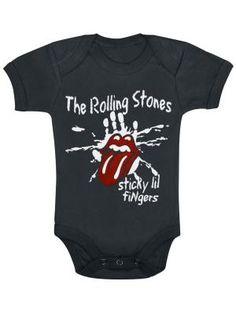 Sticky Little Fingers por Rolling Stones, body Bebé $19.99  ( euros) ...en EMP Rock Mailorder España : La más grande venta por correo de Merchandising Oficial Musica Metal / Hard rock / Heavy / Gótico / Militar/ Lolita & Punk Style ..de Europa !