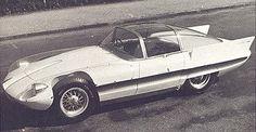 Alfa Romeo Super Flow I (Pininfarina), 1956 #alfa #alfaromeo #italiandesign