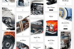 Instagram Stories – Classic Automotive Theme, is a professional, modern and elegant template for your Instagram posts or stories. Inspirational boards, daily stories, interesting portraits, introduce your products and much more. With this Instagram post template, you can easily improve the quality of your Instagram with a more attractive and professional one. This template is fully editable and can be customized in Adobe Photoshop. Instagram Design, Instagram Feed, Instagram Story, Instagram Posts, Instagram Banner, Premium Cars, Instagram Post Template, Car Wrap, Old Cars