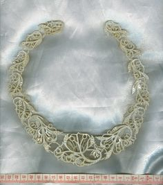 Georgian woven natural seed pearl parure necklace pendant brooches pre Victorian (image 25 of 33)