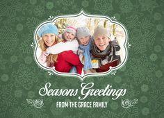 Winter holiday photo card | CatPrint Design #667