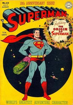 Found some vintage Superman comic books? Find out what your Superman or Action Comics are worth at Sell My Comic Books. Superman Comic Books, Dc Comic Books, Batman And Superman, Comic Book Covers, Comic Book Characters, Superman Family, Superman Stuff, Comic Book Grading, Comics Vintage