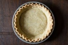 Think a perfectly flaky pie crust is impossible without butter? Think again. This pie crust is totally authentic and yet totally dairy free -- all thanks to the magic of coconut oil.