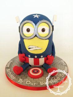 Captain America Minion! by Laura Davis