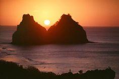 Pôr do Sol no Forte do Boldró Celestial, Sunset, Water, Outdoor, Road Maps, Wayfarer, Sidewalk, Viajes, Nature