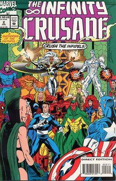 Infinity Crusade # 2 by Ron Lim & Al Milgrom