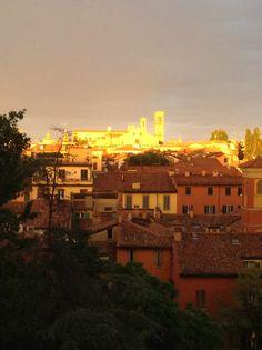 Bologna al tramonto. Italy