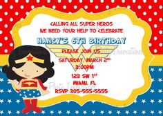 checkout include:    Age, Name    Party date and time    Place/address    RSVP  info phone number or email    Any other info you would like to have added to the invite    Size 5x7 or 4x6    Email address where we can send your file.