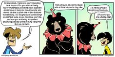 So fucking much. Penny Arcade, Funny Bears, Tech Support, Pop Culture, Nerd, Humor, Comics, Nifty, Anonymous