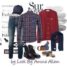 """Casual for him"" by Look by Amina Allam"