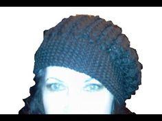 2-Шапка -берет, вязанный спицами \Knitting hat - YouTube