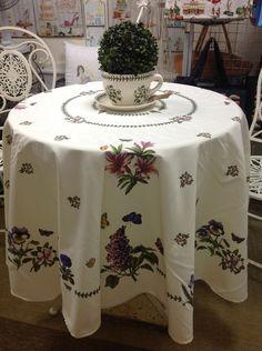 Portmeirion Botanic Garden Round Tablecloth