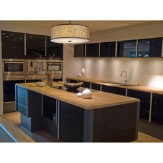 Etched curved corner rectangles are brilliantly enhanced by the diffused light within this drum shaped fixture. The appearance is further defined by the polished stainless steel finish with a sparkling white diffuser or an aged bronze finish with an amber Kitchen Interior, Kitchen Design Small, Kitchen Installation, Small Kitchen, Kitchen Remodel, Luxury Kitchen, Kitchen Remodel Small, Kitchen Design, Kitchen Cabinets Pictures