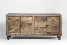 Recycling meets craftsmanship #wood #design #furniture