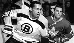 Bruins first black hockey player