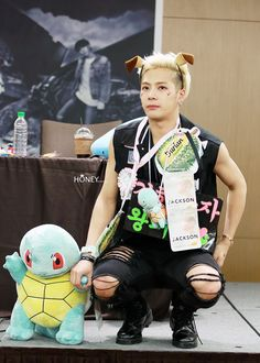 Jackson funny at fansign