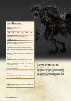 Bloodborne Monster Manual by DM Tuz - Imgur Dungeons And Dragons Books, Dnd Dragons, Dungeons And Dragons Homebrew, Bloodborne Concept Art, Dnd 5e Homebrew, Darkest Dungeon, Dnd Monsters, Creature Concept Art, Game Character Design