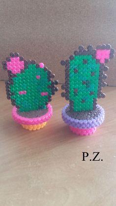 Cactus perler beads by Piazobel100