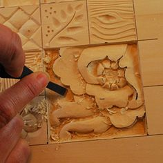 nora hall wood carved cradles | ... Strokes And Shaping Techniques Used In Relief Wood Carving wallpaper