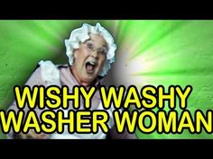 """Wishy Washy"""" Wishy Washy Washer Woman is from the award-winning CD, Best Kid's Songs! This song is full of fun action, silly movements and dance! Silly Songs, Fun Songs, Kids Songs, Camp Songs, Kindergarten Songs, Preschool Music, Teaching Music, Brain Break Videos, Broken Song"""