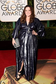 Melissa McCarthy attends the 73rd Annual Golden Globe Awards held at the Beverly Hilton Hotel on January 10, 2016 in Beverly Hills, California.