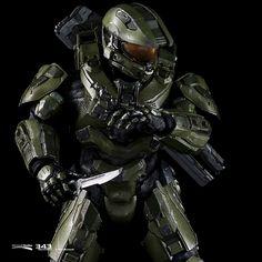 Halo 5 master chief armour.