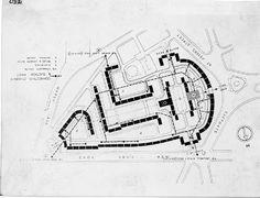 Quarry Hill Flats, site plan