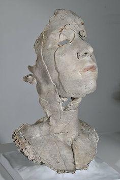 Sophie Kahn | Sculpture - Glazed stoneware (cast from 3d print)
