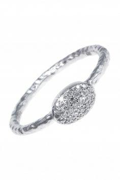white gold #diamond #ring I designed by meira t I NEWONE-SHOP.COM