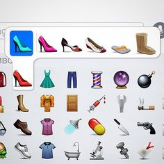 6 Sets of Emoji That Should Exist but Don't (Yet): We've come a long way in 2015 .