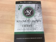Solomon Grundy Cherry  WINE kit 6 bottles 7 days FREEPOST UK