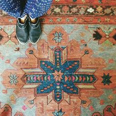 lovely rug @Melissa Squires Henson james / bleubird blog instagram