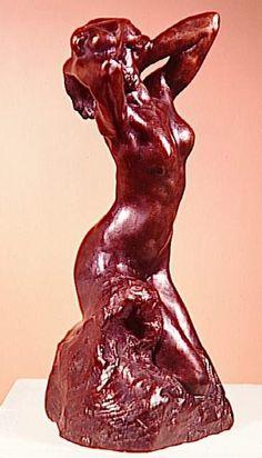 Auguste Rodin - La Toilette de Vénus ca 1886 Auguste Rodin, Modern Sculpture, Sculpture Art, Traditional Sculptures, French Sculptor, Plastic Art, Ice Sculptures, Famous Art, Sand Art