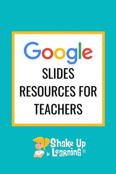 Google Slides is my absolute FAVORITE G Suite tool! It is really the most versatile tool in the Google toolbox. So today, I'm giving you 12 Google Slides Resources That Will Make Your Day! Yes, I'm going to say it. Google Slides is like a Swiss Army Knife for your classroom. It is so much more than a presentation tool. Google Slides can help you transform your classroom assignments, give students room to stretch their creative legs, engage them in new ways, and make the learning more DYNAMIC! Kids Educational Crafts, Educational Websites, Educational Technology, Science Crafts, Technology Tools, Free Teaching Resources, Teacher Resources, Teaching Ideas, Google Classroom